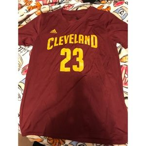 Adidas Youth Boys Cleveland Cavaliers #23